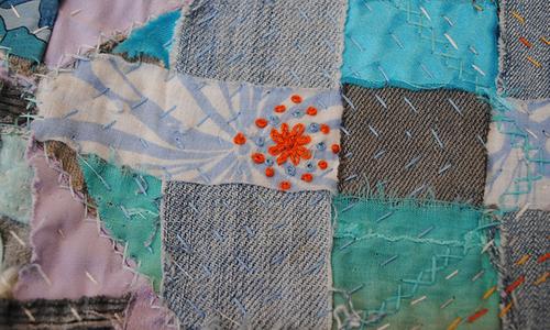 How To Do Japanese Boro Stitching | 1 Million Women