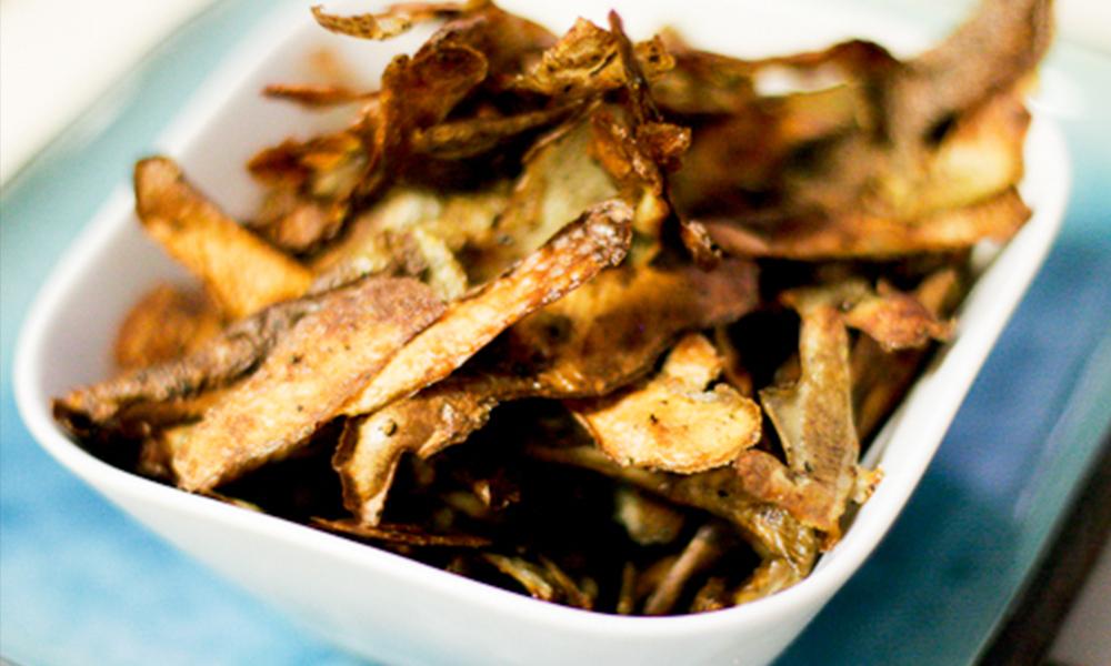 Image result for potato peel chips