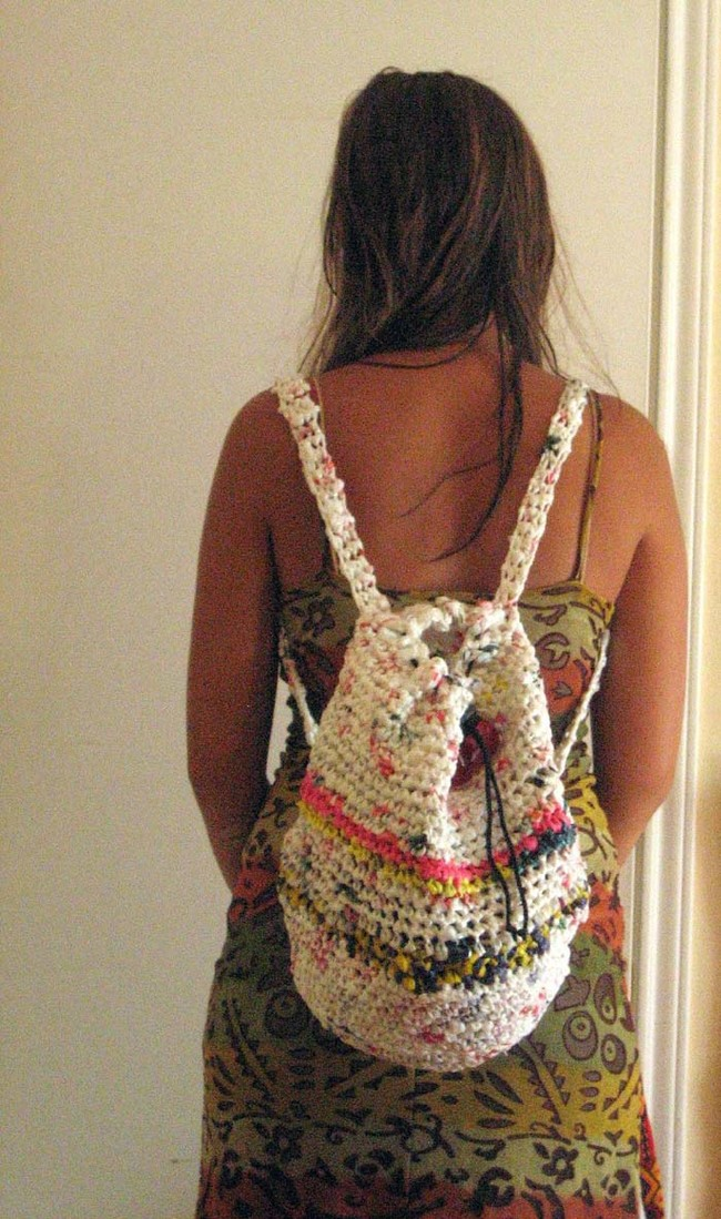 How To Diy Recycle And Upcycle Plastic Shopping Bags