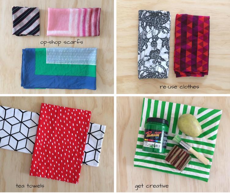 How to: Furoshiki (Japanese Fabric Wrapping)